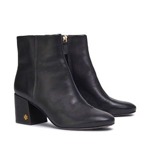 Tory Burch Juliana 2 65mm Leather Booties Black